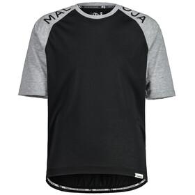 Maloja JupiterbartM. Gravel Shirt Men, zwart/grijs